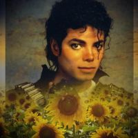 mj  and sunflower R.I.P by maxsilla