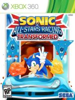 Sonic All Stars Racing Transformed Cover Art by SmilesFPS