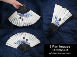 Blue Fan Stock Pack by SafariSyd