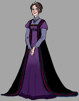 Queen of Arendelle redesign by kemiobsesses