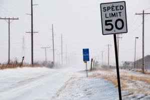 Speed Limit Not 50 by Bvilleweatherman