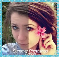 Summer Photoshop Action. by itsreality