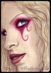 ACEO -- Turquoise Tease by ElvenstarArt