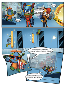 Mobius Legends Issue #1 - Page 6 (Old) by Yarcaz