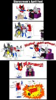 Starscream's April Fool by DarkEnergon