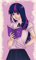twilight sparkle by mistix