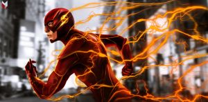 The Flash - Ezra Miller by spidermonkey23