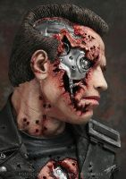Terminator close up by Alaneye