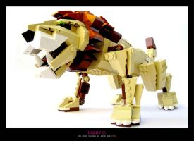 Lego Lion by haha9837