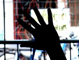 my brother hand silhouette by zerlincute