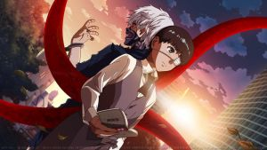 Tokyo Ghoul HD Wallpaper: Tragedy by elisadevelon
