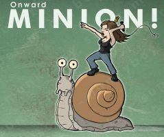 Onward MINION by happymonkeyshoes