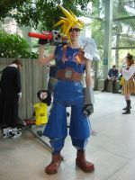 32 bit Cloud cosplay by Jagarnot