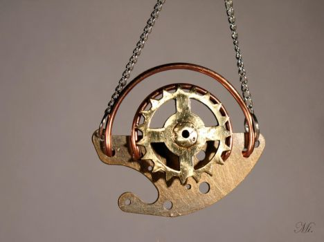 Steampunk pendant 11 by TheCraftsman