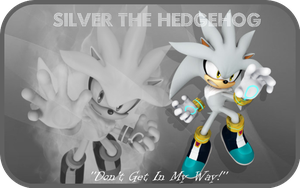 Silver The HedgeHog~ by DeathGoddess1995