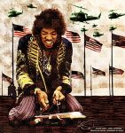 The Jimi Hendrix Experience by ruv