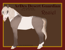 4715 | ArDes Desert Guardian by sazzy-riza