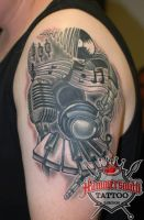 Musical Concept Piece By Ruslan by HammersmithTattoo