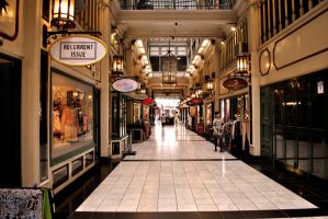 Queens arcade by Eatmyblackcancer