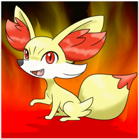 Fennekin - Twisted firestarter! by Sklavenbrause