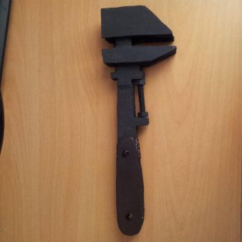 self made TF2 engineer wrench by kimberly-girl