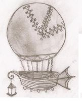 Baby Airship by dreamylittlethings