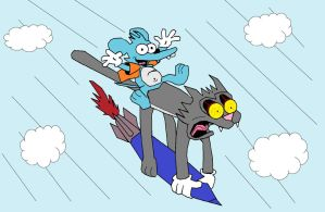 Itchy and Scratchy missile by Barricade9-1-1