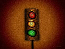 Traffic Lights by vladstudio