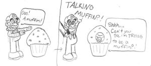 Talking Muffin? by TheToadBro