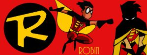 DCAM:ROBIN TIM DRAKE WALLPAPER by bat123spider