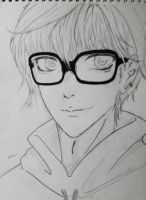 work in progress _ Glasses_ by sakura-siham