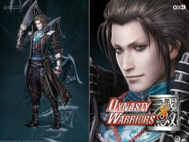 DW8 Wallpaper - Jia Chong by Koei-Warrior