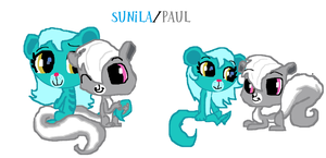 Sunila/Paul by Cartoonfangirl4