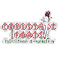 +Christmas Fonts by AblazeSky