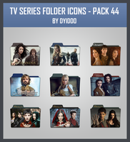 TV Series Folder Icons - Pack 44 by DYIDDO