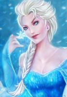 Frozen: Elsa by Glass-Owl