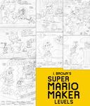 I. Brown's Super Mario of the Maker Levels by LuigiStar445