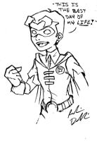 Young Jason Todd: First Day As Robin by DoodleScout