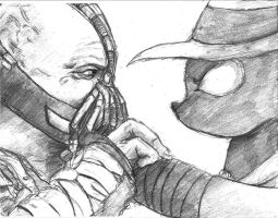 Bane v.s. Mare Do Well by TheLivingShadow