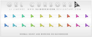 Gel Cursors 2.0 by SlideEchizen