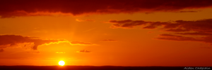 Sunset Panorama by BoutABoy