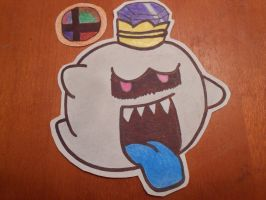 Characters I want in SSB4: Number 23: King Boo by solidsnivy97