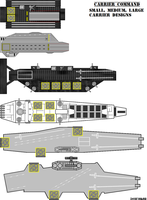 Carrier Command - Carrier Designs by SovietHybrid
