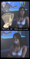 Fistful of Yen: Diana Allers by Blackcell8