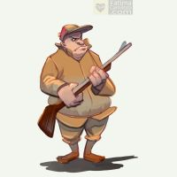 SD: Elmer Fudd by taho