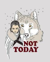 Not Today by Anlarel