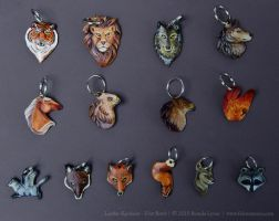 Leather Keychains - Batch 1 by windfalcon