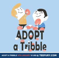 Adopt a Tribble by annamariajung