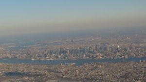 Manhattan from the air by rmbastey