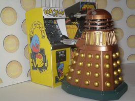 Daleks Love Retro Games by CyberDrone